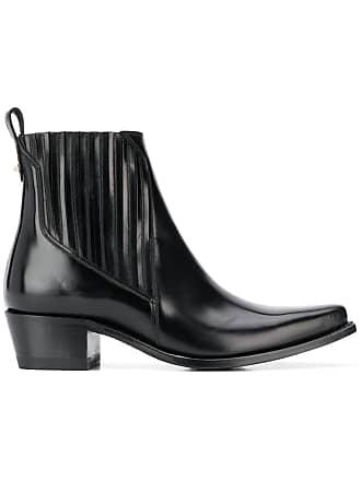017fa4faa8e7 Valentino Valentino Garavani pointed toe ankle boots - Black