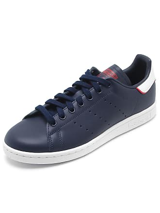 12cb3754db2 adidas Originals Tênis Couro adidas Originals Stan Smith Azul-Marinho
