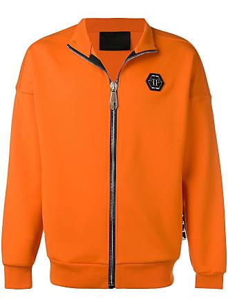 Philipp Plein Statement jogging jacket - Orange