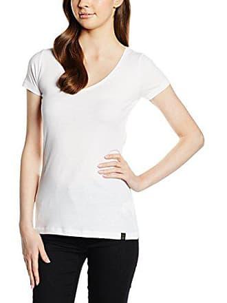 BIG STAR Messieurs SS Classic Men V-neck S//S 110 Blanc Tricot Basic T-Shirt