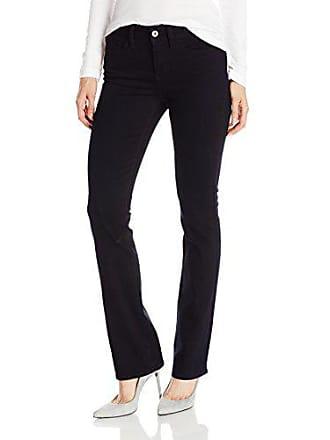 Yummie Tummie Womens Modern Mid Rise Slimming Bootcut Denim Jeans, Eclipse, 26