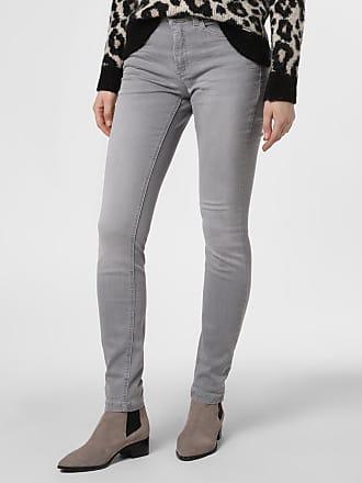 MAC Damen Jeans - Dream Skinny grau