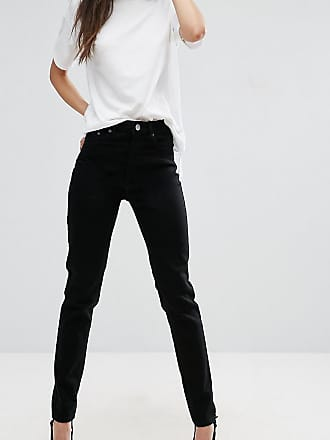 44418d96281670 Asos Tall ASOS DESIGN TALL - Farleigh - Hoch taillierte, schmale Mom-Jeans  in