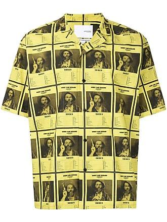 Yoshiokubo Wanted Aloha shirt - Yellow