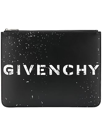 Givenchy Stencil large zipped pouch - Black f5e417efffccc