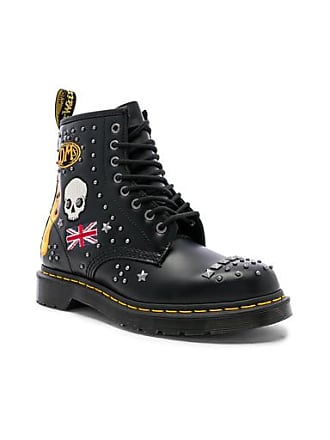 Dr. Martens 1460 Rockabilly in Abstract,Black