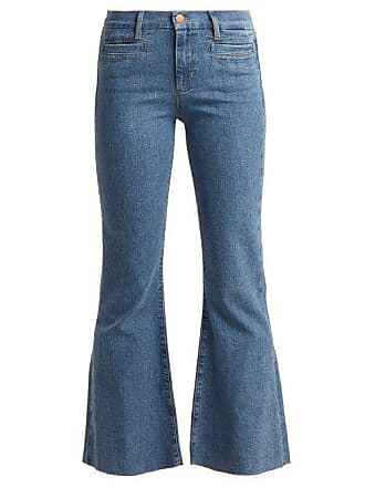 Mih Jeans Marrakesh Kick Flare Cropped Jeans - Womens - Denim