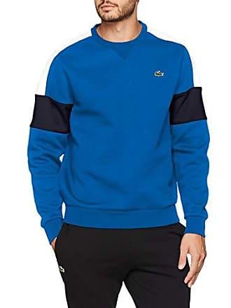 7b3a9d83941 Lacoste Sport SH9509 Sweat-Shirt Homme Bleu (Royale Blanc-Marine Ehh)