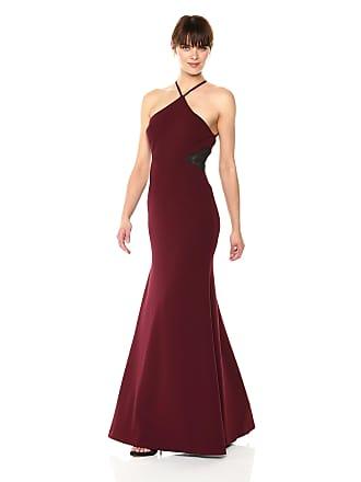 9f7087ddf7e Vera Wang Womens Halter Dress with Side mesh Inserts Formal Night