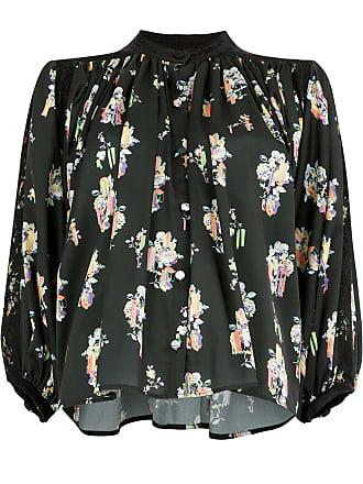Koché Blusa floral - Preto