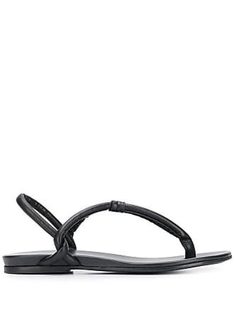 Del Carlo thong sandals - Preto