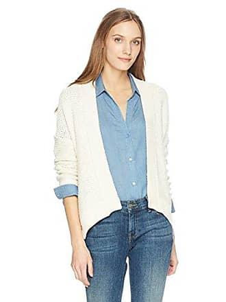 NYDJ Womens Long Sleeve Cardigan, Vanilla, S