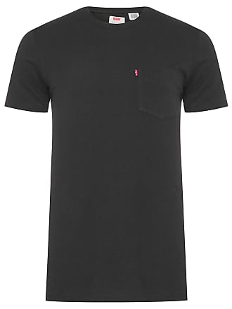 Levi's CAMISETA MASCULINA SUNSET POCKET - PRETO