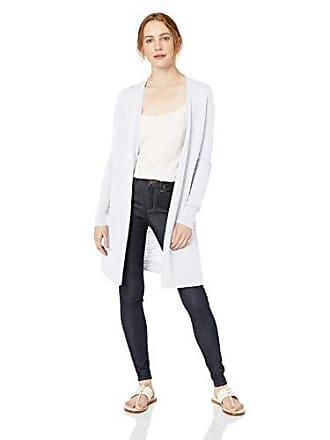Daily Ritual Womens Lightweight Duster Cardigan, White, XX-Large