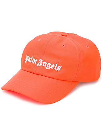 Palm Angels logo embroidered baseball cap - Orange
