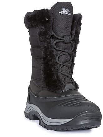 1d3279f9ee3 Trespass Womens Ladies Stalagmite II Snowboots (8 UK) (Black)