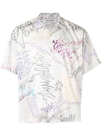 Ground-Zero Camisa estampada - Branco