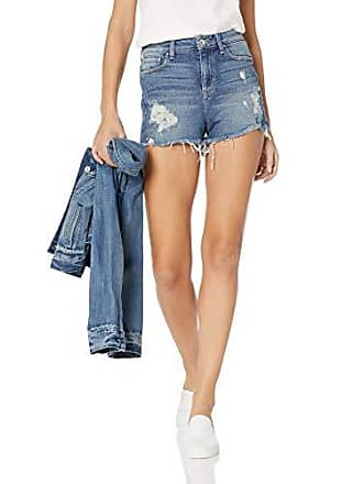 Guess Womens Claudia High Rise Shorts, Doheny Blue wash 25