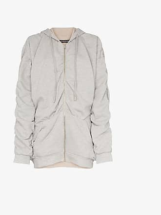 Y / Project Y/Project reversible gathered detailing hooded jumper