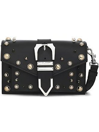 Versus Versus Versace Woman Studded Leather Shoulder Bag Black Size