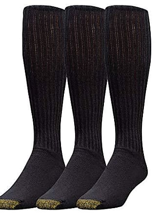 7796c110b256 Gold Toe Mens Ultra Tec Performance Over The Calf Athletic Socks, 3-Pack,