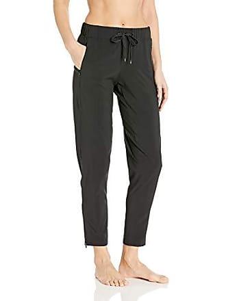 Body Glove Active Womens Origin Loose FIT Activewear Pant, Black, Large
