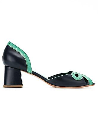 Sarah Chofakian Sapato com recortes - Azul