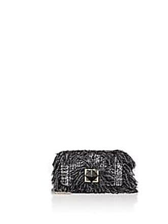 fd7782dc02 Sonia Rykiel Womens Le Copain Medium Tweed Shoulder Bag - Wht.&blk