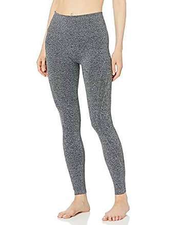 Maidenform Womens Seamless Baselayer Legging, Charcoal Grey Heather, Small