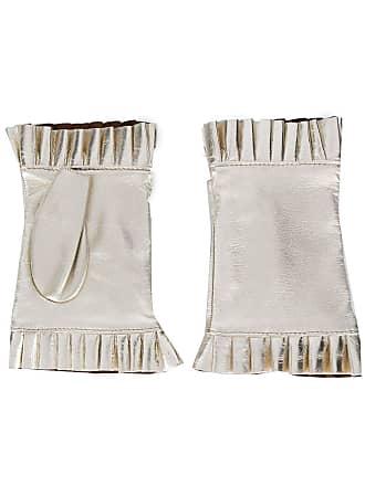 Gala Gloves Par de luvas sem dedos - Dourado