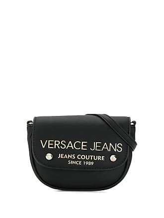 Versace Jeans Couture Pochete com placa de logo - Preto
