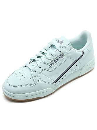 adidas Originals Tênis Couro adidas Originals Continental 80 Verde