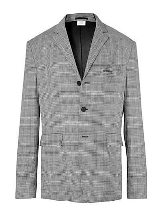 VETEMENTS Grey Wrinkled Suit Jacket - The Webster
