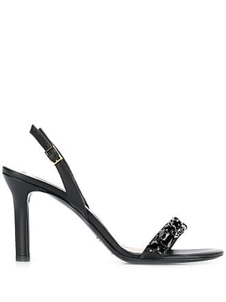 Escada open toe sandals - Preto