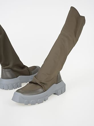 Rick Owens Fabric STRETCH HIKING Boots size 45