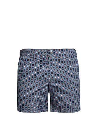 6d7293dab2 Alexander McQueen Alexander Mcqueen - Floral Print Swim Shorts - Mens - Blue