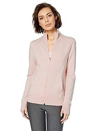 Amazon Essentials Womens Studio Terry Long-Sleeve Full-Zip Jacket, Lotus, XL
