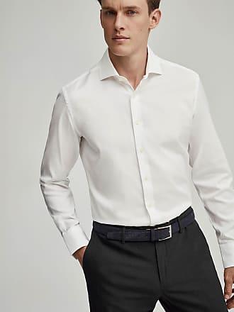 Hackett Mens Cotton Travel Shirt | 2XL | White