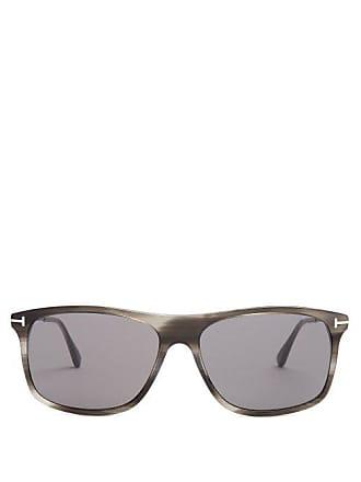 81a2087fdb2 Tom Ford Eyewear Square Frame Sunglasses - Mens - Grey