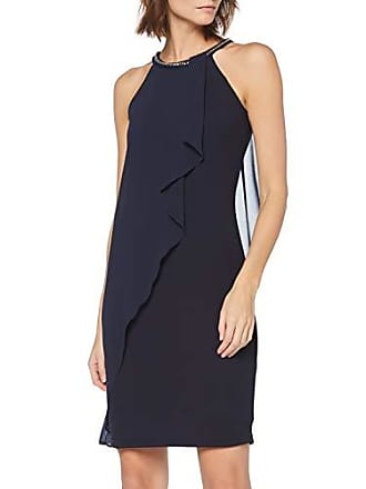 4aaa266dc483c1 Esprit 039EO1E048 Robe, Blau (Navy 400), 44 (Taille Fabricant: 42