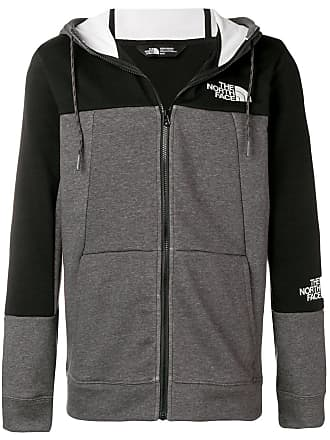 The North Face logo relaxed fit hoodie - Black