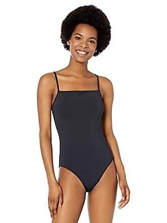 d62e407bd77f6 Roxy Womens Solid Beach Classics One Piece Swimsuit, True Black, L