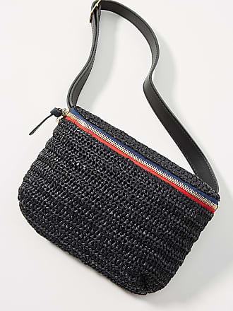 Clare Vivier Raffia Belt Bag
