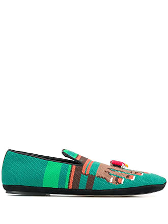Loewe Toe ring loafers - Green
