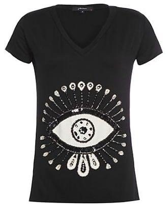 J. Chermann Camiseta Olho Gota J. Chermann - Preto