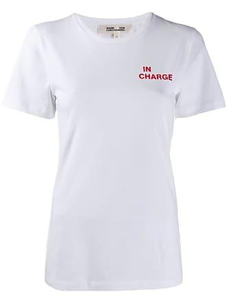 Diane Von Fürstenberg In Charge T-shirt - Branco