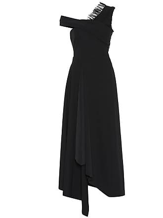 Preen Asymmetric draped dress