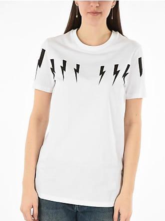 Neil Barrett Stretchy Cotton THUNDERBOLT T-shirt size Xl