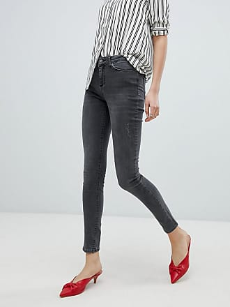 Vero Moda Washed Skinny Jeans - Gray