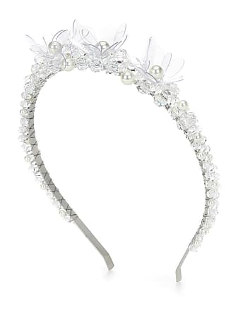 Simone Rocha Cerchietto con cristalli e perle 66e16bac056c